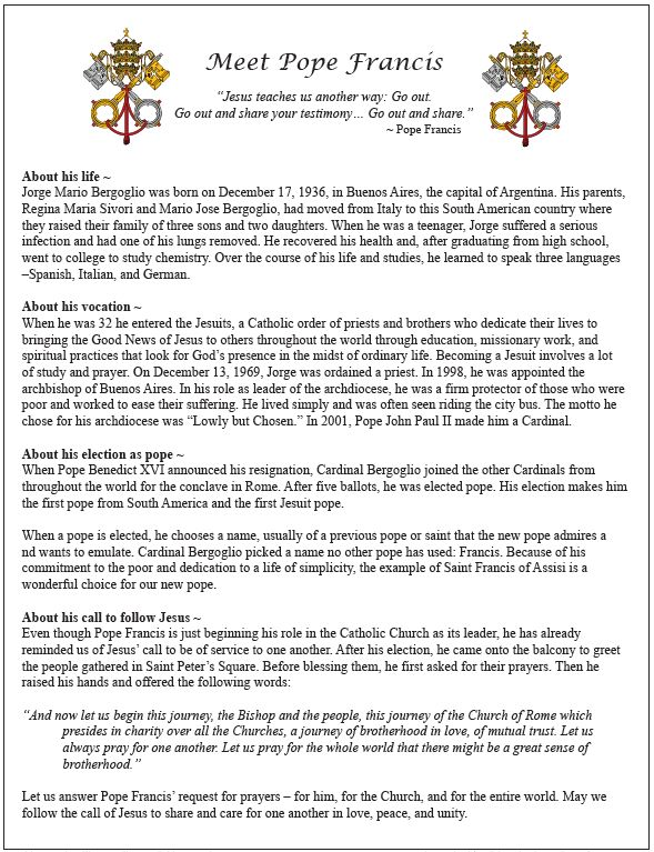 catholic single men in pope a f b Every pope ever: the full list but which pope held the longest pontificate or was the he is no longer considered a pope by the catholic church.