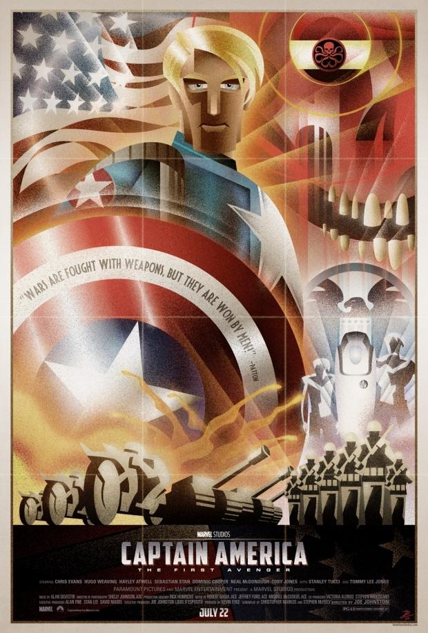 Movie Poster Artwork by Josh Gilbert | Dailydip