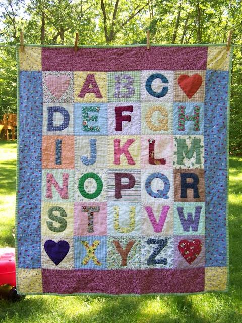 101 best Children's Alphabet Quilts images on Pinterest   Patterns ... : children quilt - Adamdwight.com