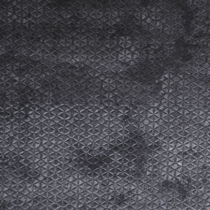 CALYPSO GRIS MOYEN 71254/003 : «Couture» velvet printed and embossed using a technique similar to that of fine leather