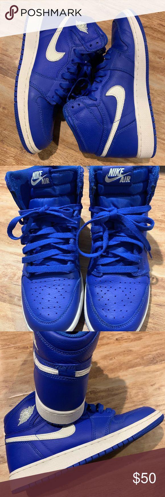 Nike Air Jordan Retro 1 Royal Blue size 6 youth Air