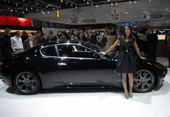 Maserati at the Geneva Motorshow 2008