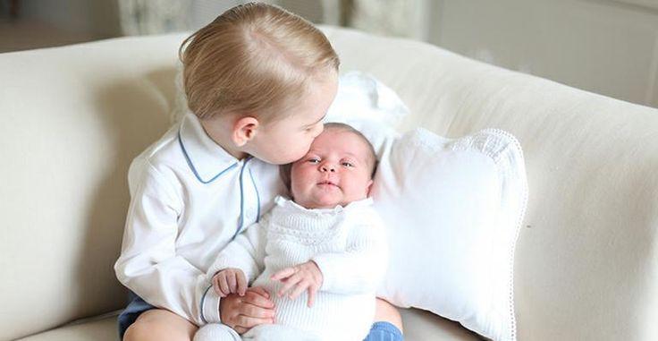 Veja as primeiras fotos oficiais de Príncipe George e Princesa Charlotte, filhos de Kate Middleton e Príncipe William