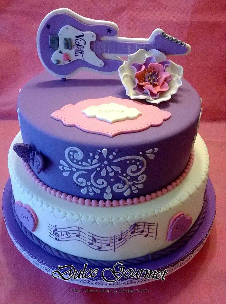 Violetta Music Cake