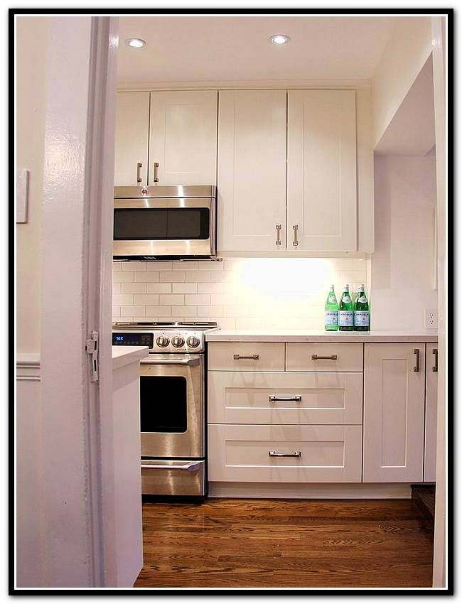 Ikea Adel Off White Kitchen Cabinets, Adel Kitchen Cabinets