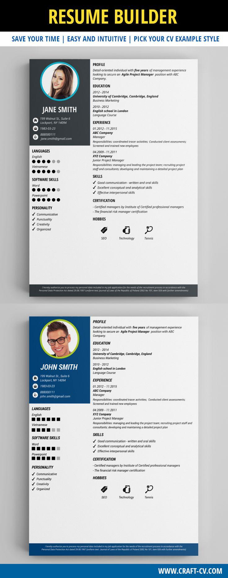 resume maker creative resumes creativeresume resumebuilder resume