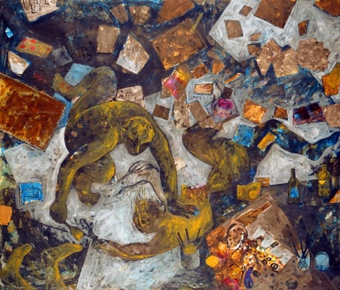 Autorretrato. Miquel Barceló. 1983.