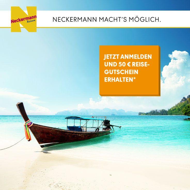 Gewinnen Sie mit Neckermann Reisen!