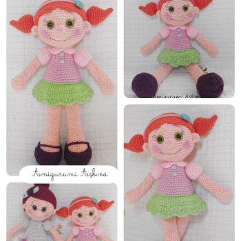 Amigurumi Büyük Safiş Bebek Yapılışı-Amigurumi Free Pattern Doll