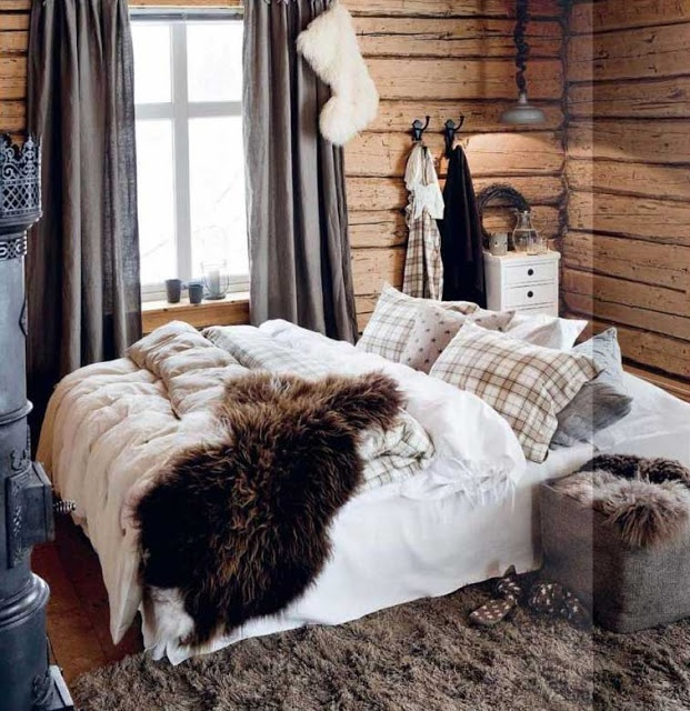 Christmas Cabin in Norway | From THE ESSENCE OF THE GOOD LIFE™ http://www.pinterest.com/ConceptDesigner/ https://www.facebook.com/pages/The-Essence-of-the-Good-Life/367136923392157