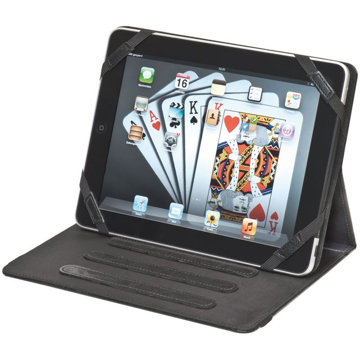 IPAD HOLDER MADE OF BONDED LEATHER