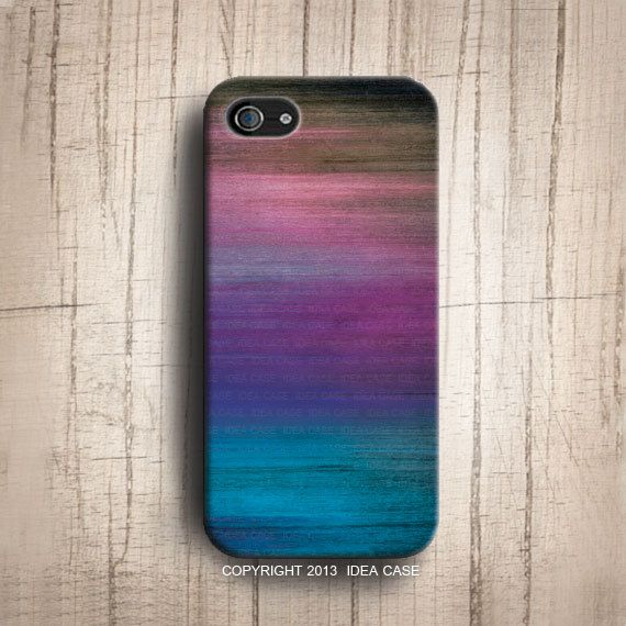 Spectrum on wood iphone 5S , Mix Colour  iphone case , wood iphone 5 case , iphone 4s iphone 5S case , wood case