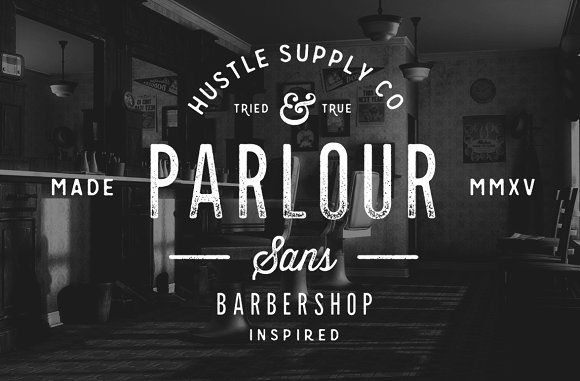 Parlour Sans by Hustle Supply Co. on @creativemarket