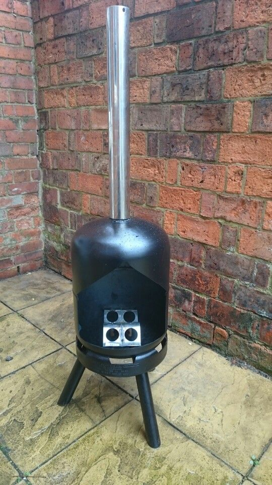 Home made chimnea.