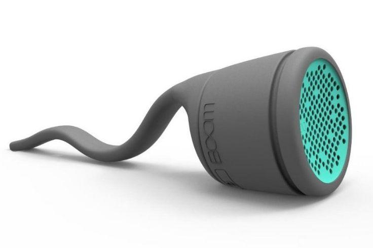 Boom Swimmer Waterproof Speaker - http://manofmany.com/tech/boom-swimmer-waterproof-speaker/