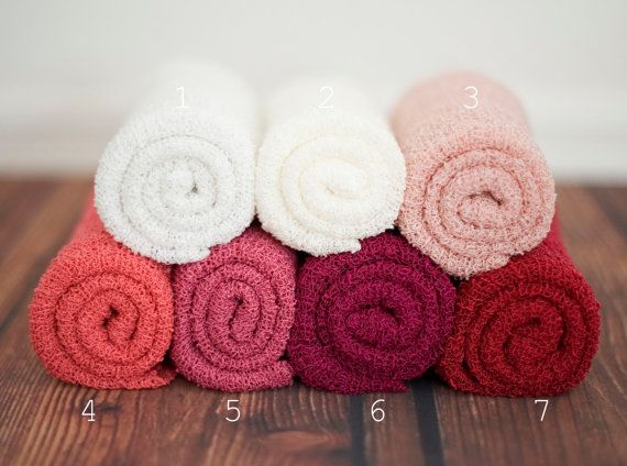 Newborn Stretch Wraps IN STOCK and Ready to Ship Super Stretch Knit Soft Swaddle Photography Prop By Leighton Heritage on Etsy, $18.49