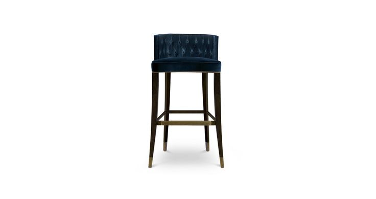 BOURBON Modern Bar Chairs | Upholstered Bar Stools | Bar Chairs | Modern Chairs #Restaurantinteriordesign #restaurantinteriors #hospitalityfurniture | Read more: https://www.brabbu.com/en/upholstery/