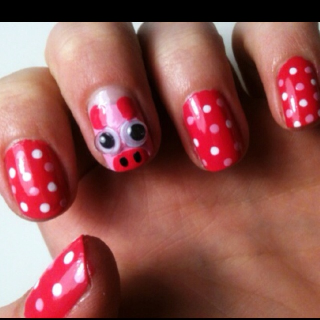 Pig Nail Art: 25+ Best Ideas About Pig Nails On Pinterest