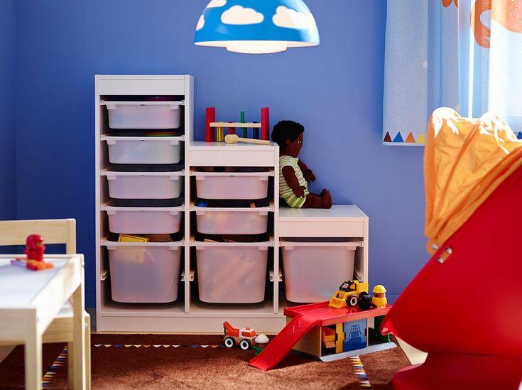 Organización de la habitación infantil. Y ahora... ¿Dónde pongo los juguetes?