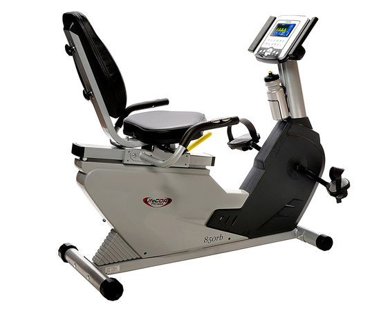 Lifecore LC-850RB Ultra Compact Recumbent Exercise Bike -- Find out more details by clicking the image : Weightloss Cardio
