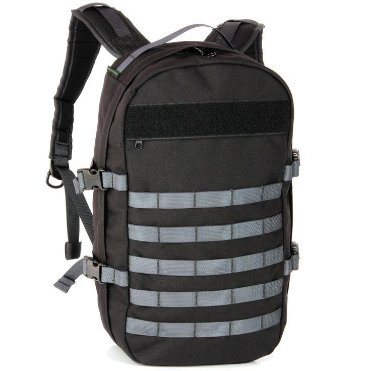 monochrome BullPup daypack 18L