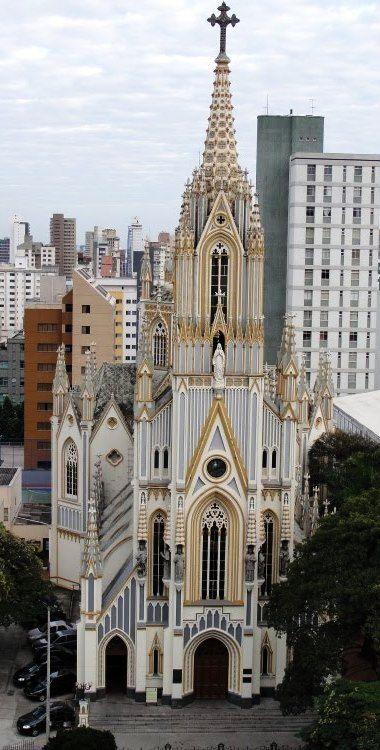 Basílica de Lourdes -Belo Horizonte -Minas Gerais -Brasil