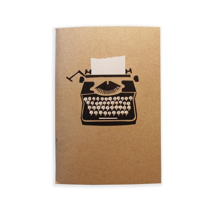 Typewriter Mini Notebook