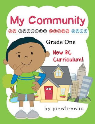 New BC Curriculum Resource: My Community Inquiry Unit