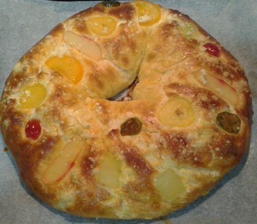 Roscón de Reyes para #Mycook http://www.mycook.es/receta/roscon-de-reyes-4/