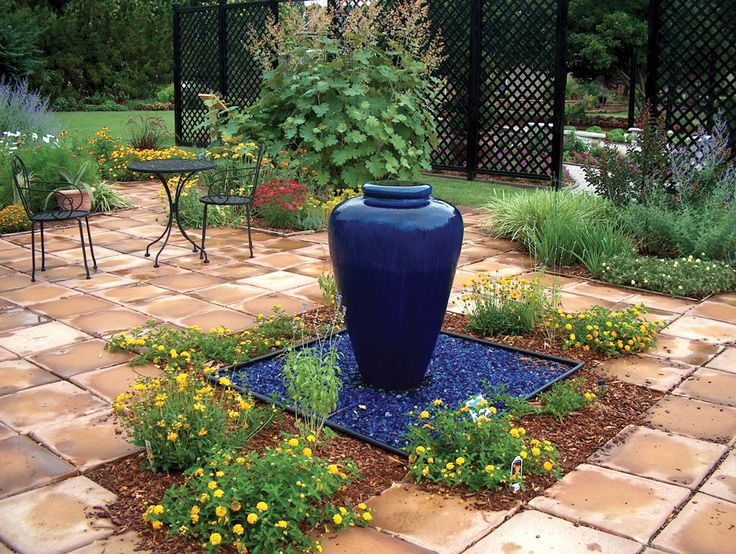 Six Basic Steps For A Do It Yourself Water Feature State By State Gardening Gardening