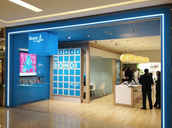 Bupa Retail Design by e2.
