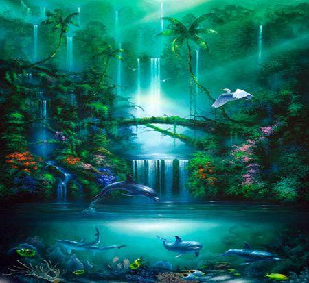 Enchanted Waterfall Google Search Tattoos Pinterest