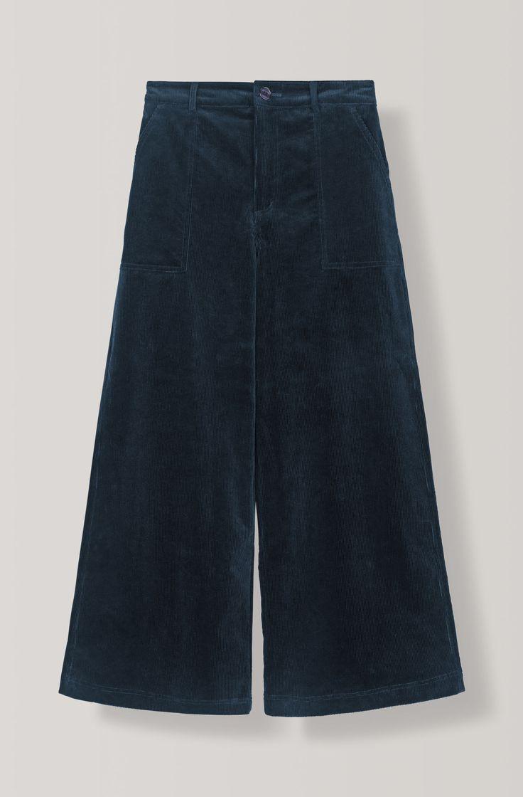 Ridgewood Wide Pants, Total Eclipse