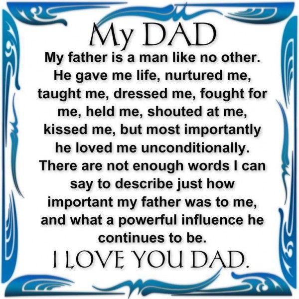 My Father Essay