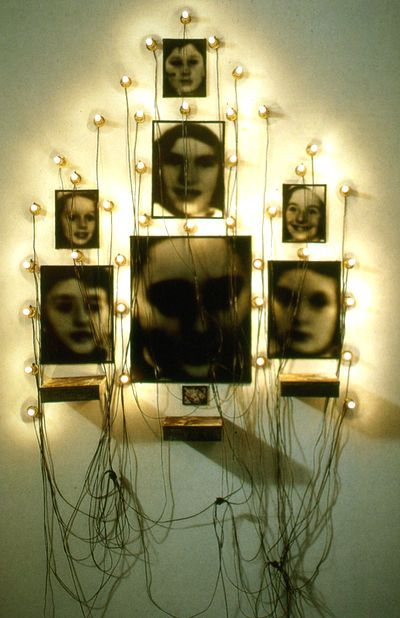 "Christian Boltanski. ...admitted that he did not remember his childhood. He subsequently attempted to reconstitute his childhood and engaged diverse art forms. Eventually, Boltanski moved from the attempted fictional reconstitution of personal memories to collective memory "". - Sylvie Blum"