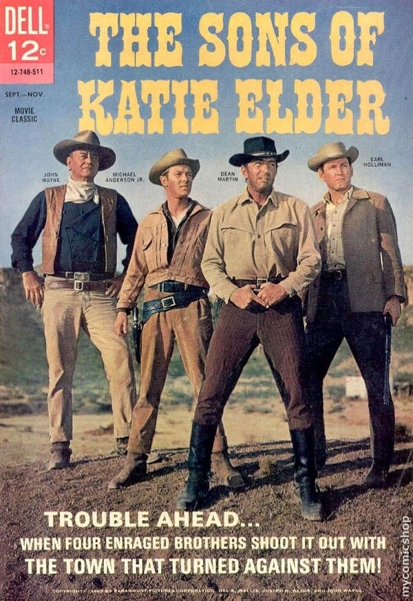 Daddy started my love for westerns...