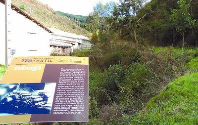 Pradoluengo (Burgos) apuesta por su patrimonio textil como dinamizador turístico, mediante su señalización.