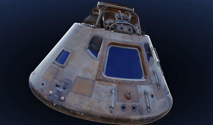 El Apolo 11 en 3D por su 47 aniversario [SIMULACIÓN 3D]