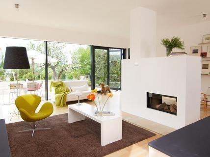 Die besten 25+ Eingebauter kamin Ideen auf Pinterest Kamin - whirlpool im wohnzimmer