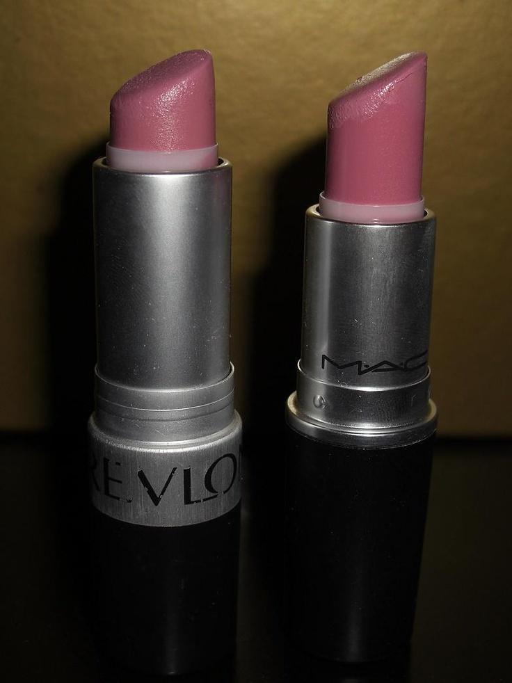 Makeup and Macaroons: MAC Snob vs Revlon Pink Pout