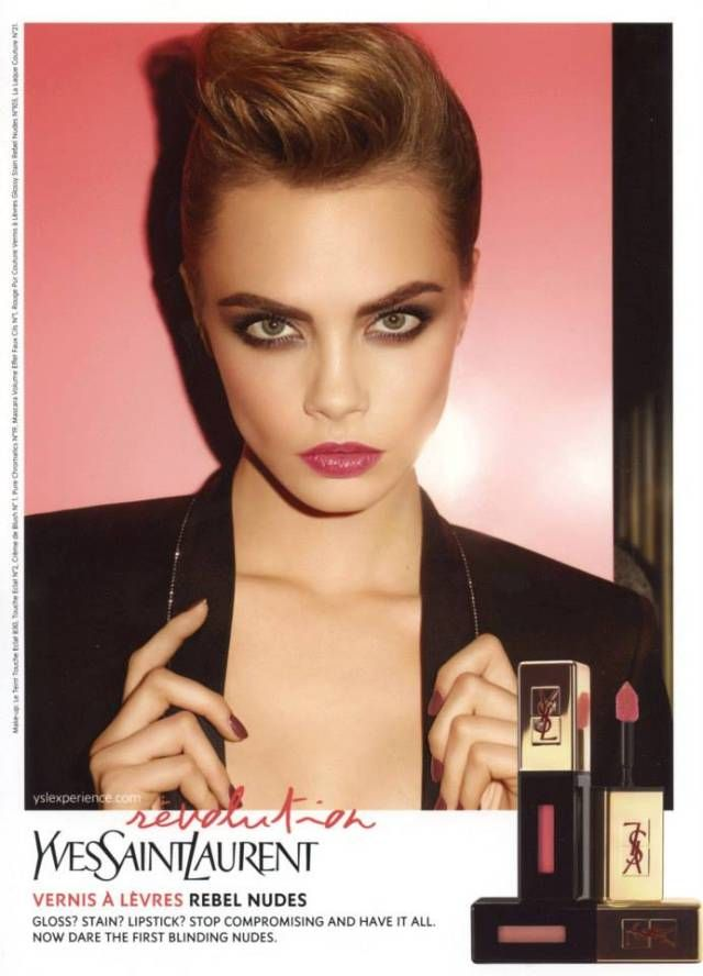 Cara Delevingne Fronts YSL Beaute's Rebel Nudes Campaign | Fashion Gone Rogue: The Latest in Editorials and Campaigns