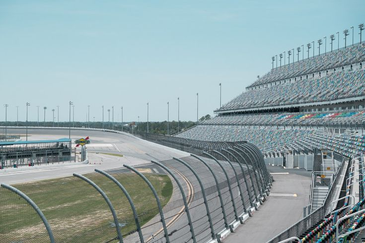 Daytona International Speedway vista panoramica