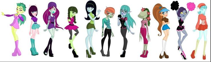 learn how to monster high characters
