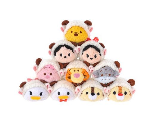 Year of the Sheep Tsum Tsum Plushes