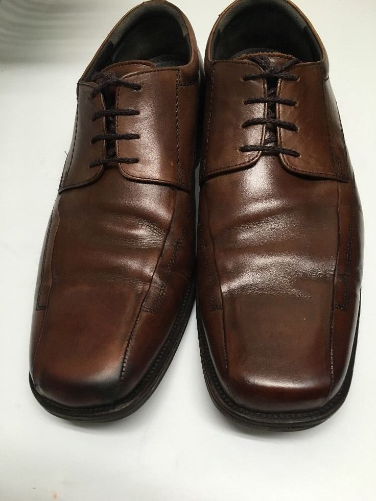 Johnston & Murphy Brown Bicycle Square Toe Oxfords Shoes Mens 13 M 59-31180 #JohnstonMurphy #Oxfords