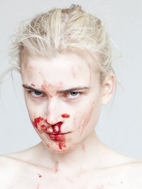 Bloody noses are beautiful!