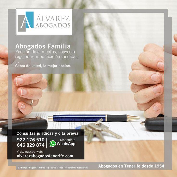 Abogados Familia Tenerife: modificación de medidas, convenio regulador, pensión de alimentos,… https://alvarezabogadostenerife.com/?p=2447 #abogados #derechofamilia #abogadostenerife