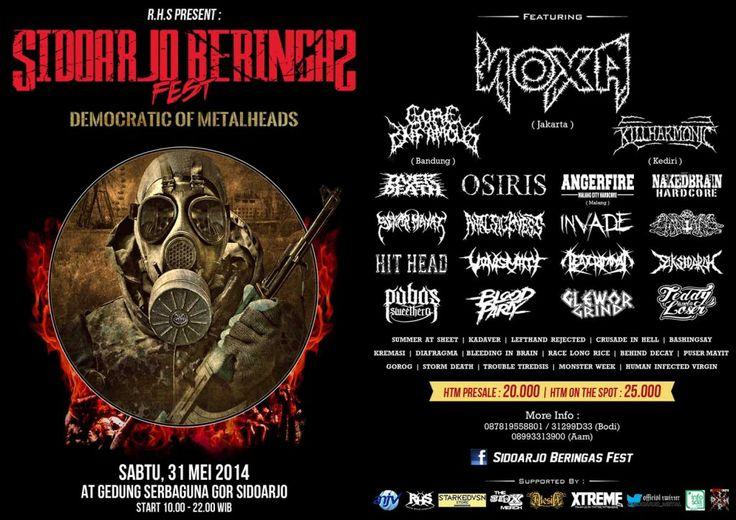 """SIDOARJO BERINGAS FEST """"Democratic of Metalheads"""""""