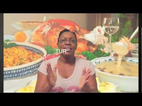 Thanksgiving songs for preschool - I'm Ready for Some Turkey! - Littlestorybug