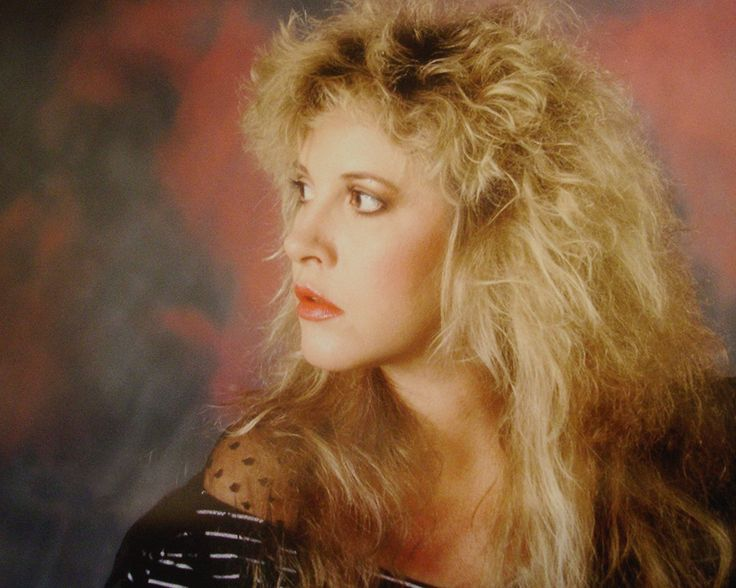 Stevie Nicks photographed by Neal Preston in 1987.
